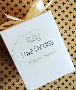 Baby Love Candle